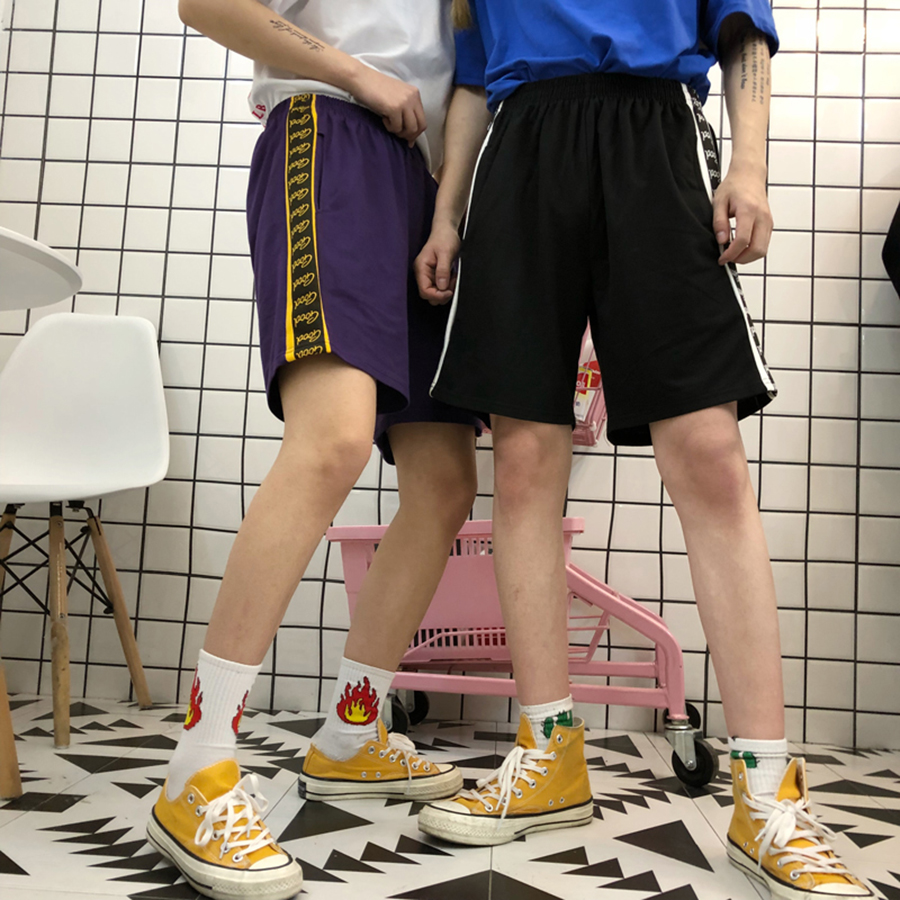 Loose Shorts Women Knee Length Casual Street Style Sweatpants High Waist Shorts Korean Fashion Short Feminino Harajuku 50H0248