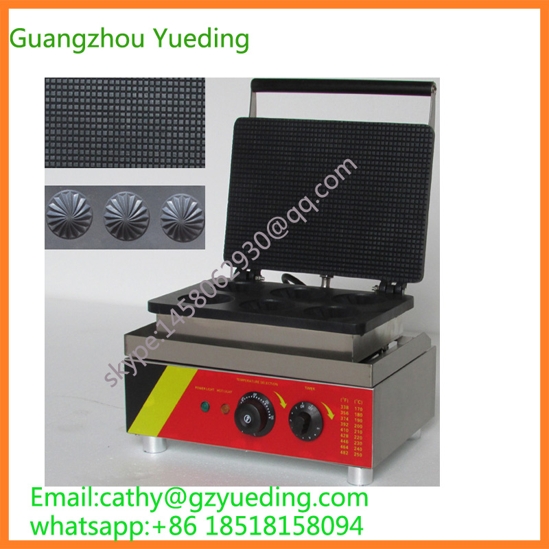 China supplier stoopwafels maker Syrup waffles maker special