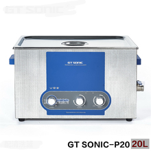 GT SONIC-P20 Ultrasonic Cleaner Heating Timer Adjustable Power Steel Stainless Steel 110V/220V Watch Bathroom Jewelry Glasses