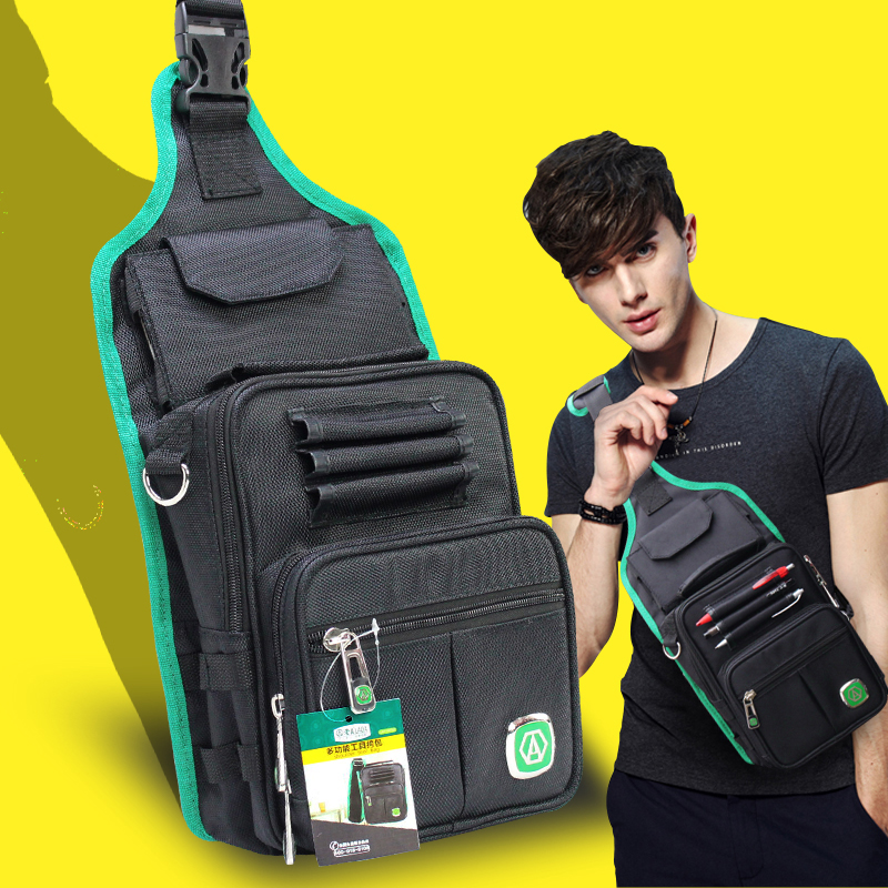 LAOA Multifunctional Tool Bag Messenger Bag Mechanic's Electrician Canvas Pocket Water-Proof Travel Pouch