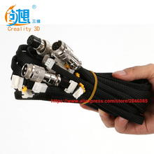 Facotry supply Freeshipping By DHL /Fedex CREALITY 3D Printer Parts Extension Cable Kit For CR-10/CR-10S Series 3D Printer
