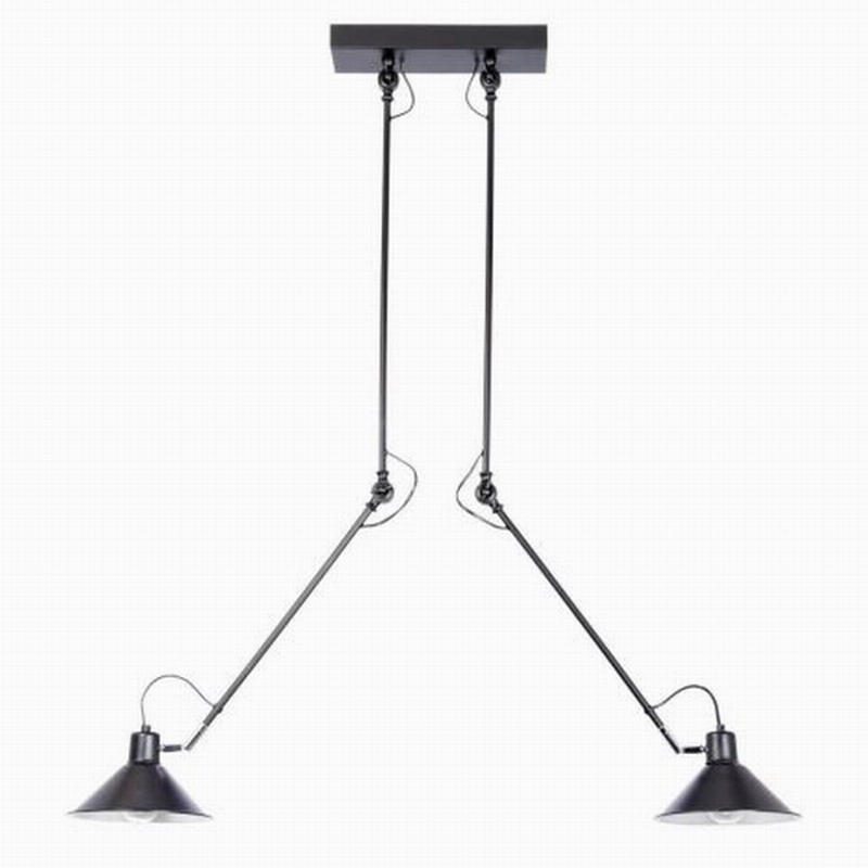 Modern Industrial Black 2 Arm Adjustable Ceiling Lights E27 Plafonnier LED  Ceiling Lamps Fixture Luminaire For Living Room In Ceiling Lights From  Lights ...