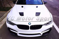Car Accessories Carbon Fiber VRS Style Hood Bonnet Fit For 2012 2014 F30 F35 3 Series Front Hood Cover