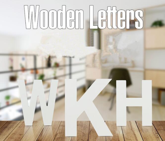 1PC 15cm Home Decor Wooden Letter 26 Wood English alphabet ...