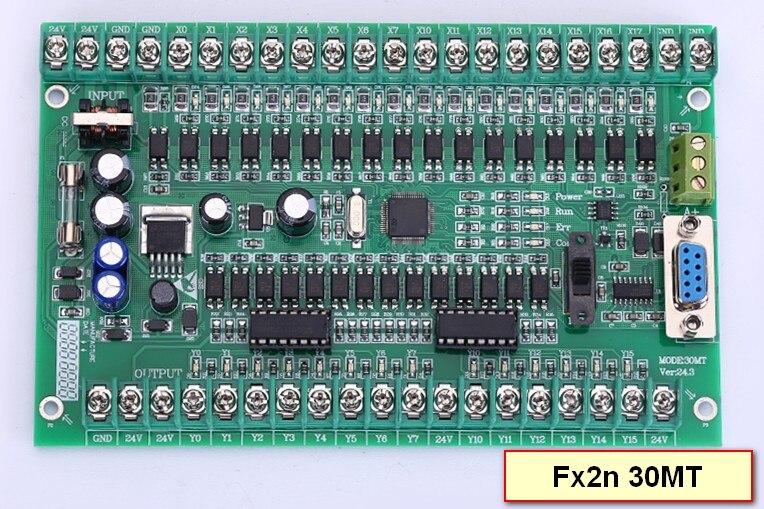Moteur contrôleur plc Programmable Logic Controller Simple carte plc FX2N 30MT, STM32 66 entrée point et 14 sortie point