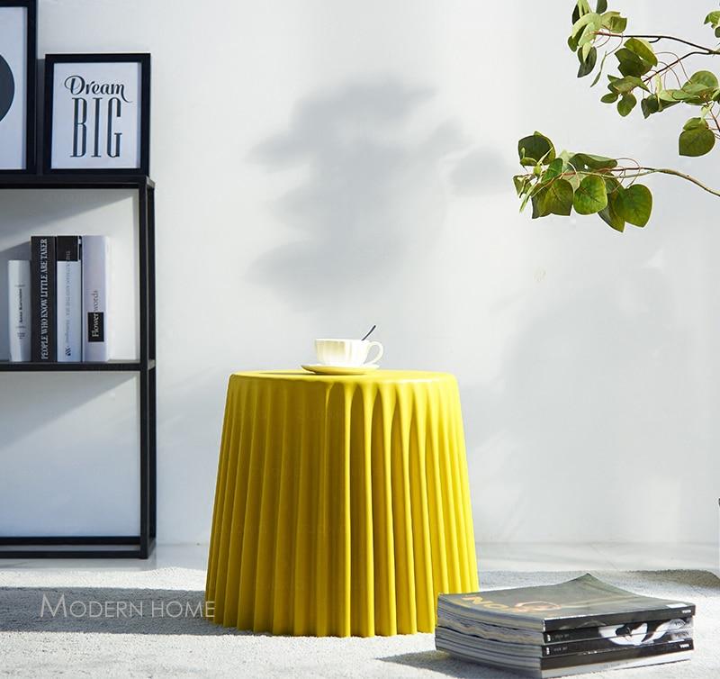 Bijzettafel Modern Design.Minimalist Modern Design Plastic Low Small Side Table Living Room