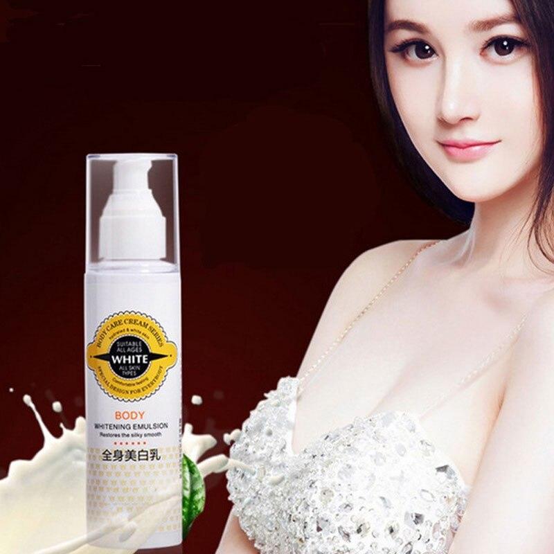 Skin Bleaching Cream For Dark Skin Snow Whitening Cream Whole Body Lotion Neck Knee Moisturing Deep Whitening Lasting Moisture
