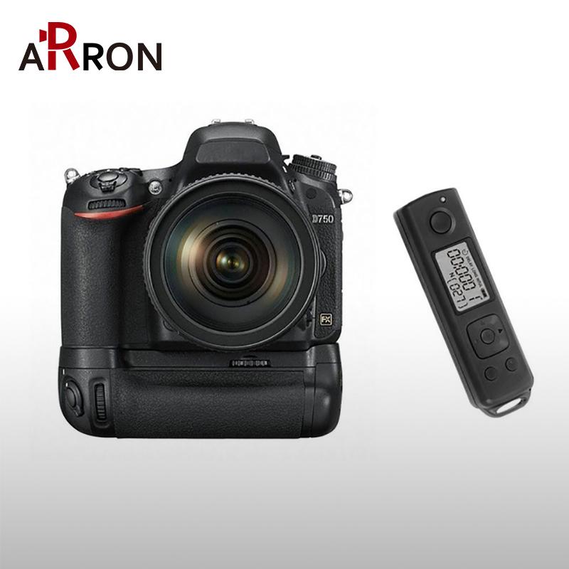 Prix pour Meike MK DR750 Intégré 2.4g Sans Fil Contrôle Batterie Grip pour Nikon D750 COMME MB-D16 Sans Fil À Distance