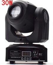 30 w led spot moving head light/usa luminums 30 w led dj spot light controller dmx discoteca luce