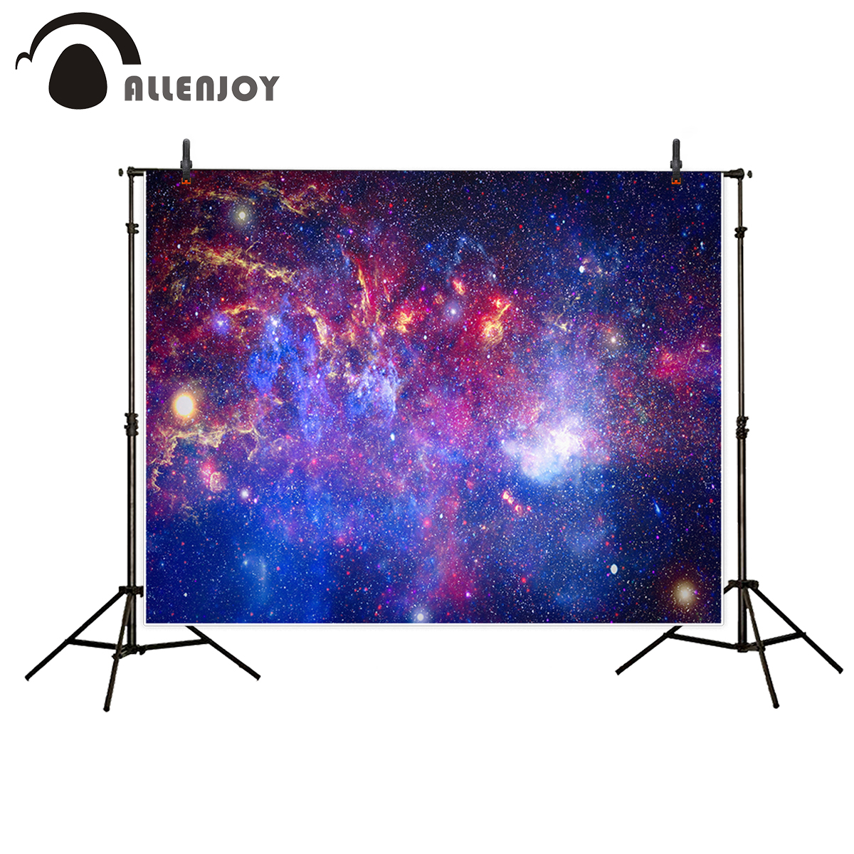 Allenjoy vinyl photographic background Cosmic space beautiful dream shock Photographic background photocall for studio study