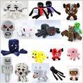 Minecraft-игрушки мультфильм кукольный игрушки fnaf плюшевые куклы стежка плюшевые кино ТВ аниме мягкие игрушки плюшевые 13-22 см