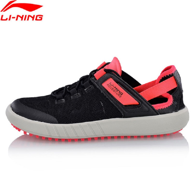 Li-Ning 2018 Women WATER 2018 Aqua Outdoor Shoes Comfortable Breathable Li Ning Light Sports Shoes Adventure Sneakers AHLN002