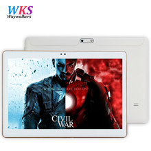 Free shipping 3G 4G Phone Tablet PC MT6592 Octa Core 10.1 Inch Full HD 1280*800 IPS Android 5.1 4GB Ram 64GB Rom GPS tablets pcs