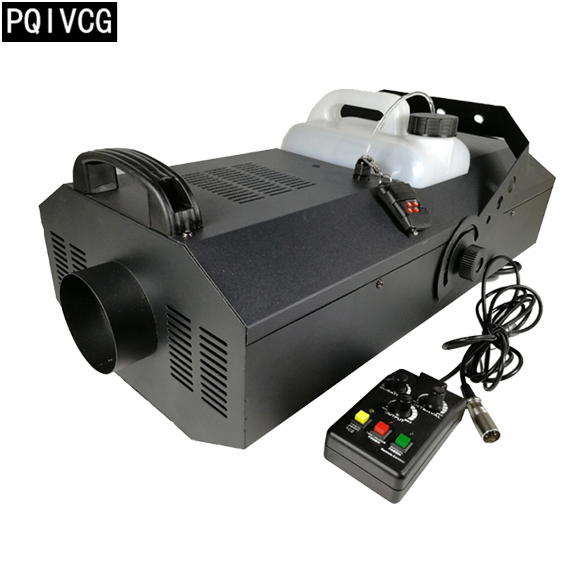 3000w big smoke machine Wire control timing quantitative dmx512 remote control 3000w smoke machine
