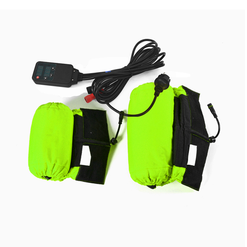 Motorcycle Tire Tyre Warmer Covers Heater with Digital Color Size 120 200 2pcs Motorbike cubierta del