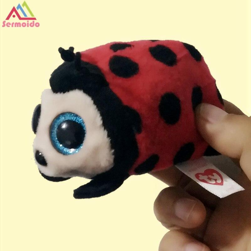 Sermoido 4 Ty Beanie Боос Teeny trixy-Lady Bug Плюшевые Большой Средства ухода для век плюшевые игрушки куклы подарок для маленьких детей d36