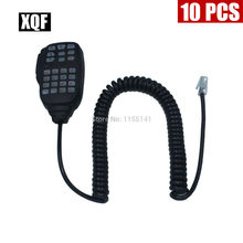 XQF 10PCS Handheld Speaker Microphone Mic HM-133V For icom radio IC-2200H IC-V8000(China)
