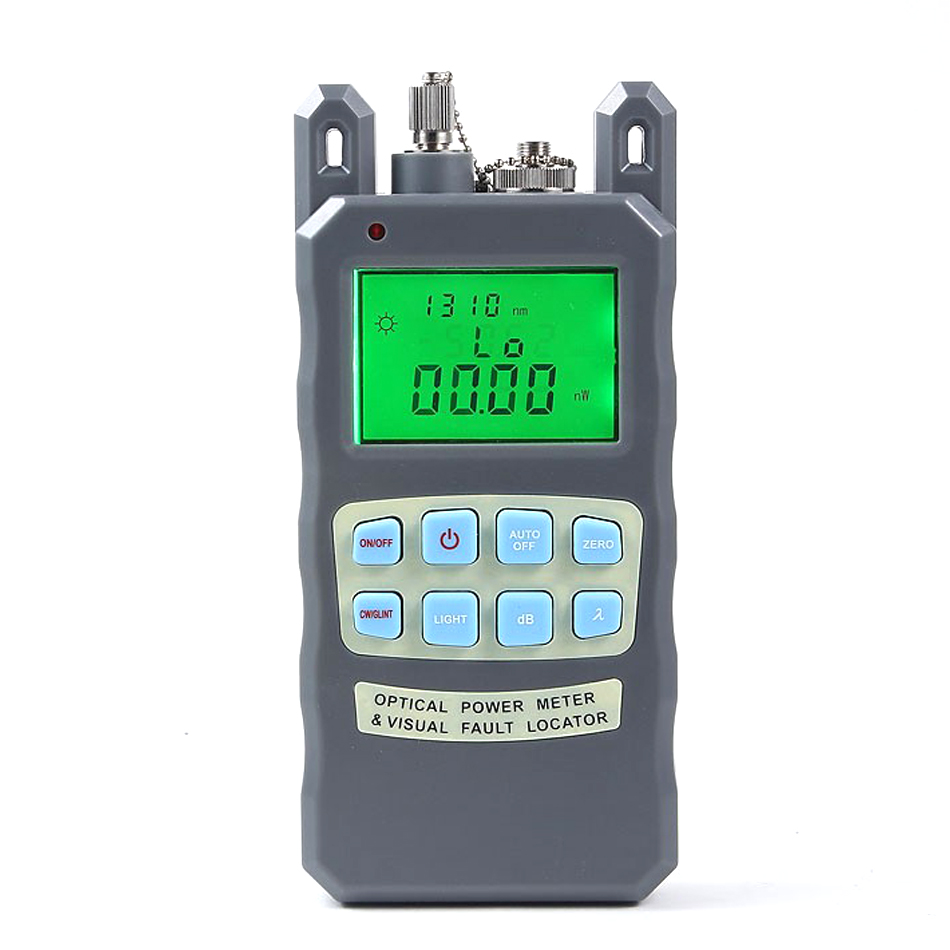 Fiber Optical Power Meter -70 to +10dBm and 1mw 5km Fiber Optic Cable Tester Visual Fault Locator
