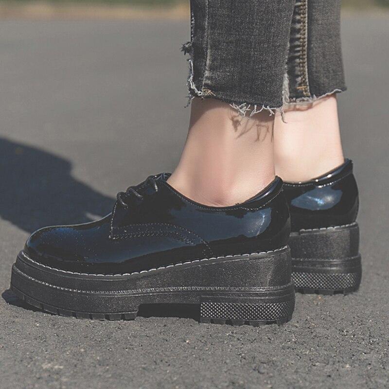 Comprar Zapatos Cómodos De Moda Para Estudiantes Plataforma