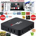 Docooler m9s-pro 4 k 3 gb 32 gb inteligente android 5.1 tv box amlogic S905 Quad Core KODI 64bit 16.0 WiFi H.265 Miracast Set top caixa