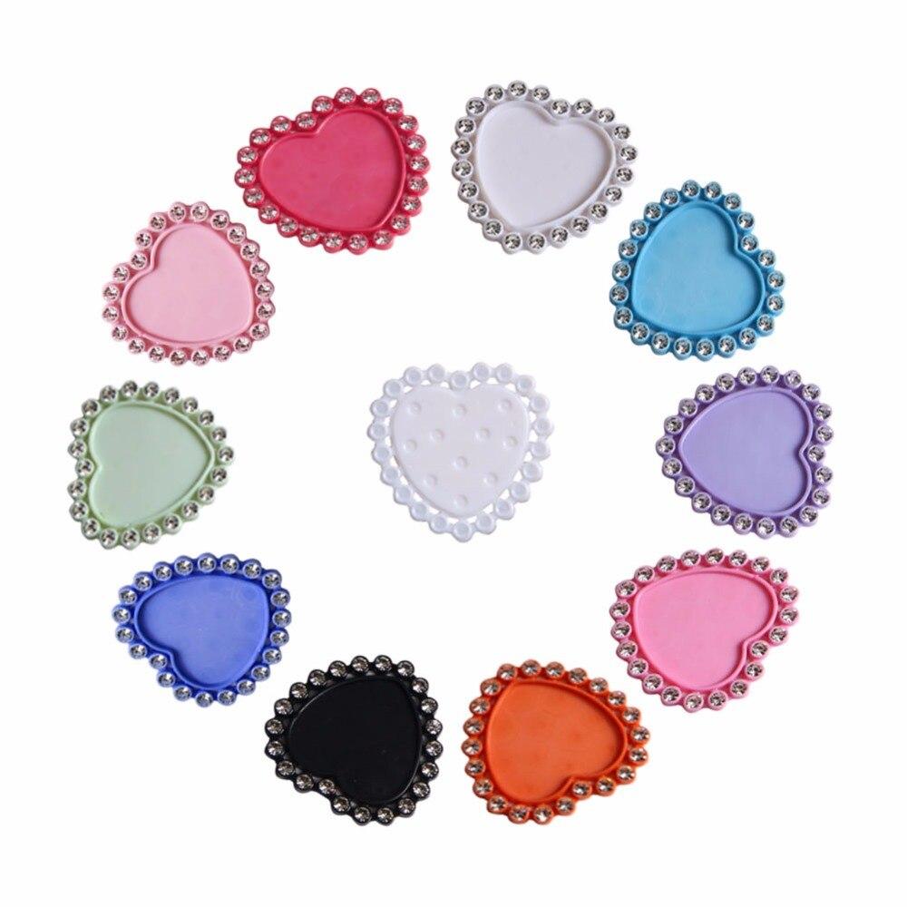 Горный хрусталь кнопки внутренний размер 25*23 мм алмаз живопись для DIY ремесел дома приглашения украшения аксессуары 10 шт./лот (BTN-5725)