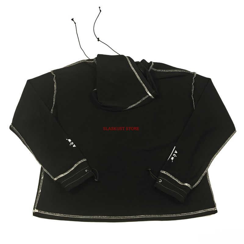 6c5c4d3d7422c ... Best Version A-COLD-WALL Contrast Stitching Reversible Hoodie Oversize  Sweatshirt Streetwear Elasticized Cuffs ...