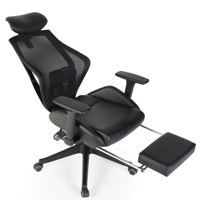 Siesta Reclining Computer Seat Lifted With Footrest Office Chair Multifunction Swivel Chair Ergonomics Adjustable Gaming Chair