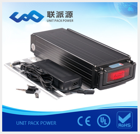 Super power li ion battery rear rack 36v 20Ah ebike battery+charger free customs taxes factory super power rechargeable 36 volt power supply 36v 20ah li ion battery pack