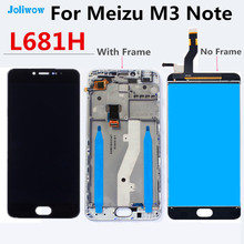 "5.5"" For Meizu m3 note LCD L681H Display Touch Screen Digitizer Aseembly Replacement for Note"