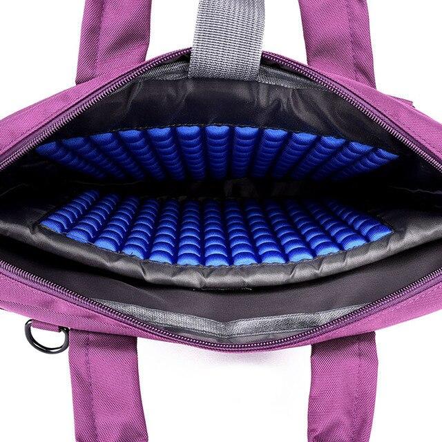 Laptop bag 17.3 17 15.6 14 12 inch Nylon airbag shoulder handbag 1