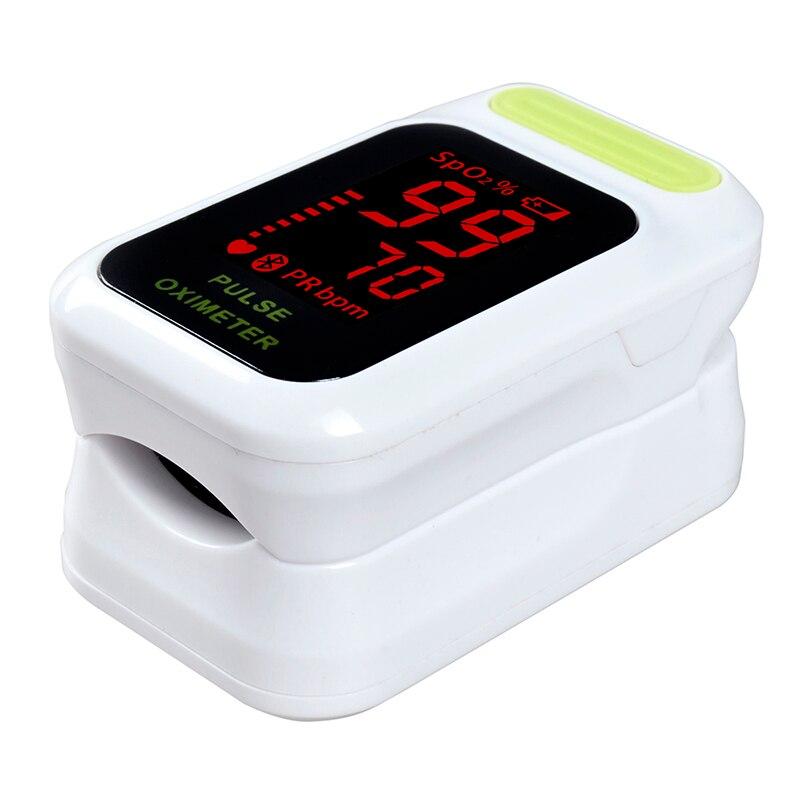 ELERA Finger Pulse Oximeter LED Portable Fingertip Pulsioximetro a Finger SPO2 PR Oximetro de dedo Digital
