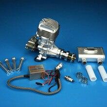 DLE 35RA оригинальный газ Бензин/Бензин 35cc двигатели для автомобиля RC модель самолета запчасти DLE35RA DLE-35RA