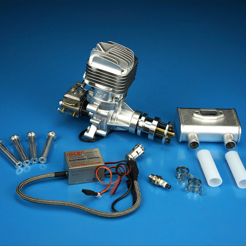DLE 35RA Original GAS Gasoline / Petrol 35cc Engine For RC Airplane Model Parts DLE35RA DLE-35RA image