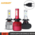 Auxmart H7 LED Headlights Cree SMD/CSP/COB Chips Headlamp Kits for 12v 24v 2WD 4WD All-in-one Single Beam 6000K 6500K Fog Lamp