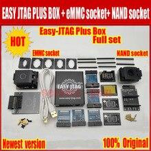 Jtag juego completo de caja fácil plus, Easy Jtag plus box + JTAG fácil de EMMC socket + NAND socket, versión 2020 ORIGINAL