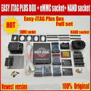 Image 1 - Jtag juego completo de caja fácil plus, Easy Jtag plus box + JTAG fácil de EMMC socket + NAND socket, versión 2020 ORIGINAL
