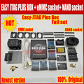 Nieuwe versie Volledige set Gemakkelijk Jtag plus doos Easy-Jtag plus doos + EMMC socket + NAND socket