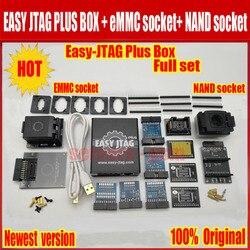 Nuova versione Completa set Facile Jtag più box Easy-Jtag più box + EMMC presa + NAND presa