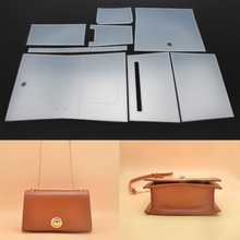 Stencil-Template Leather Craft Sewing-Pattern for DIY Women Shoulder-Bag 22x8x15cm PVC