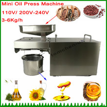 1 pieces stainless steel Multifunctional oil press machine for factory price oil press machine tool/350W oil expeller for sale