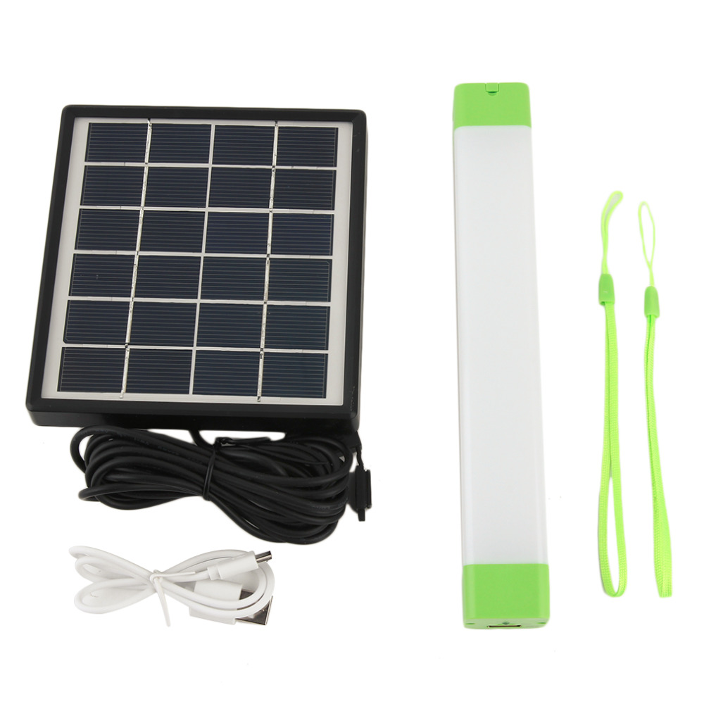 NEW Solar Outdoor Waterproof LED Lighting Multifunctional Solar Powered Portable Outside Camping Lamp With Panel