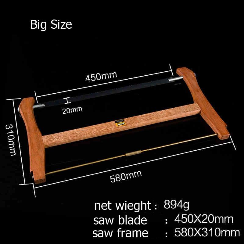 580mm / 400mm Grande telaio di piccole dimensioni Sega in acciaio - Utensili manuali - Fotografia 2