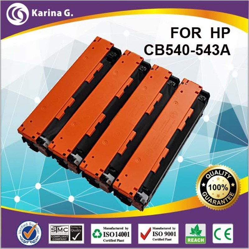 colour laser toner cartridge for 125A for hp CB540a hp CB541a hp 542a hp543a for HP Color laserJet CP1213 CP1214 CP1215 toner digital printer toner for hp colour laser jet cm2320 nf toner remanu toner cartridge for hp free shipping