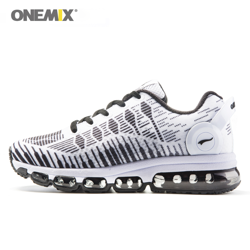 Onemix Hot Sales Music Rhythm Women Autumn&Winter Breathable Air Cusion Sneakers Running Shoes Sports Shoes Free Shipping White onemix autumn women running shoes breathable mesh vamp lightweight sneakers running shoes air cusion shoes free shipping black