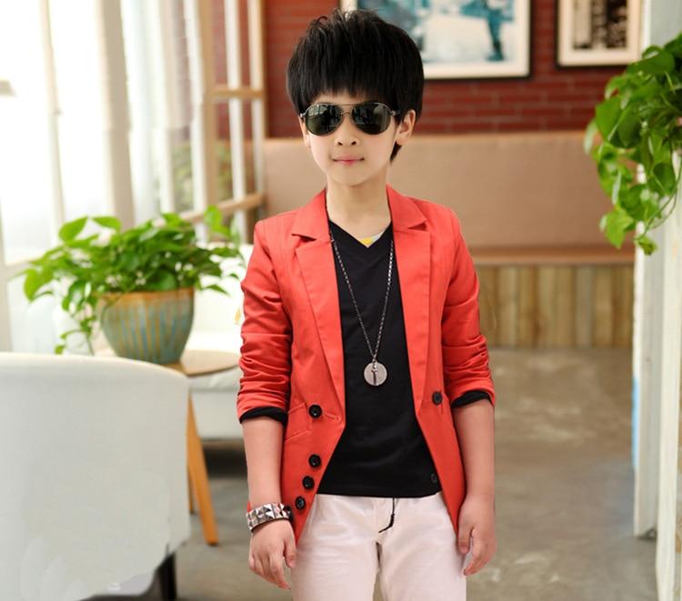 2016 Αγόρια κορεατική επίσημη Blazer - Παιδικά ενδύματα - Φωτογραφία 2