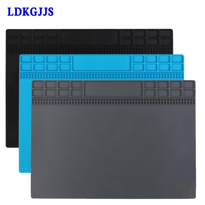 цены Heat-resistant Heat Gun Phone BGA Soldering Station Repair Insulation Pad insulator pad Soldering Mat Maintenance Platform