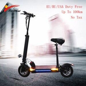 Longa distância 100km scooter elétrico 10