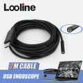 6LEDs 7MM USB Endoscope Camera Borescope Snake Inspection Video Tube Pipe Mini Camera IP67 Waterproof Cam With 2M Flexible Cable