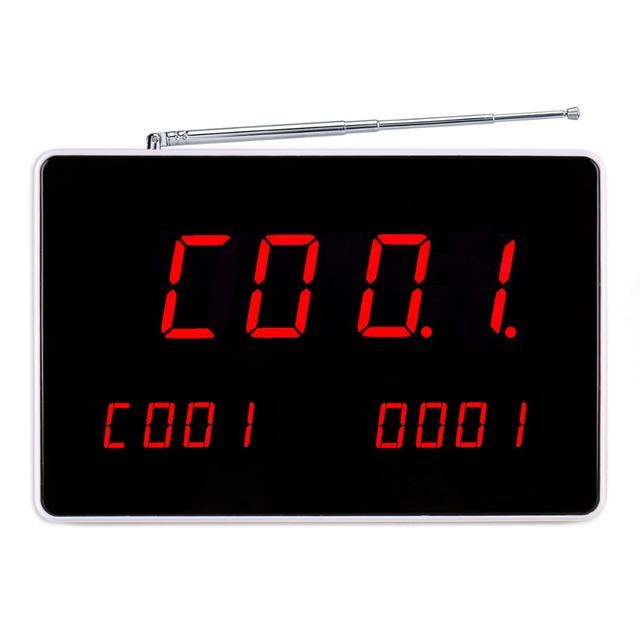 Chamando Anfitrião Receptor Com Comunicação de Voz sem fio Para O Sistema de Paginação Para Restaurante F4496B