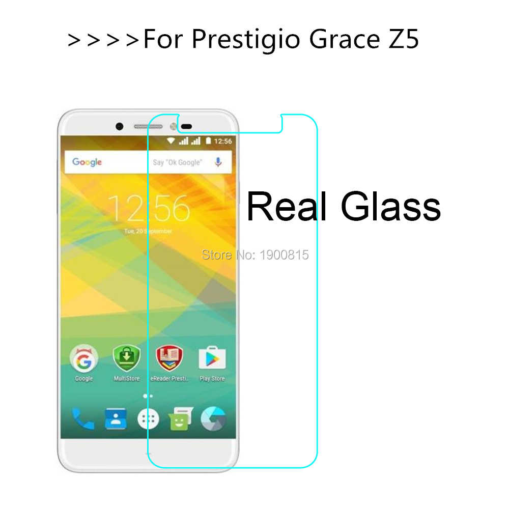 "For Grace Z5 Tempered Glass Screen Protector 9H Front Protective Film For Prestigio Grace Z5 PSP5530 DUO 5.3"" Guard Cover"